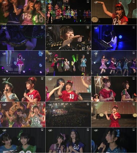 [TV-Variety] HKT48全国ツアー~全国統一終わっとらんけん~番外編in台北 完全生中継 141207