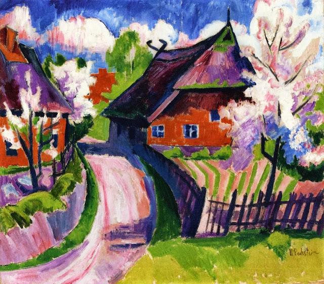 Max Pechstein - Springtime.