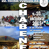 Výstup na Chabenec  2015