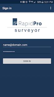 RapidPro Surveyor - náhled