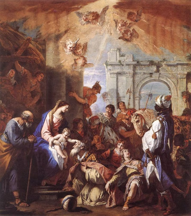 Sebastiano Ricci - Adoration of the Magi