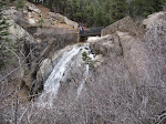 That's Helen Hunt Falls from the base