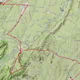 K8GP / Rover APRS route track - FM09TF, FM08US, FM18DV, FM18CR