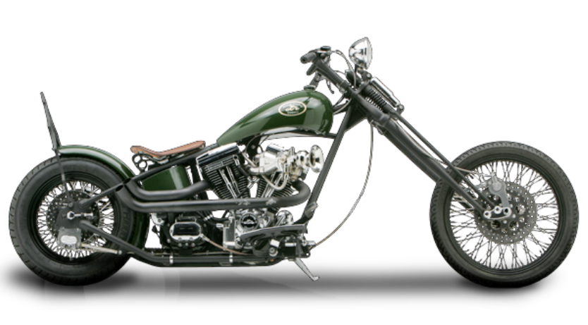chopper motorcycle png - photo #4