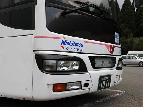 西鉄高速バス「桜島号」 9134 えびのPA休憩中 その3