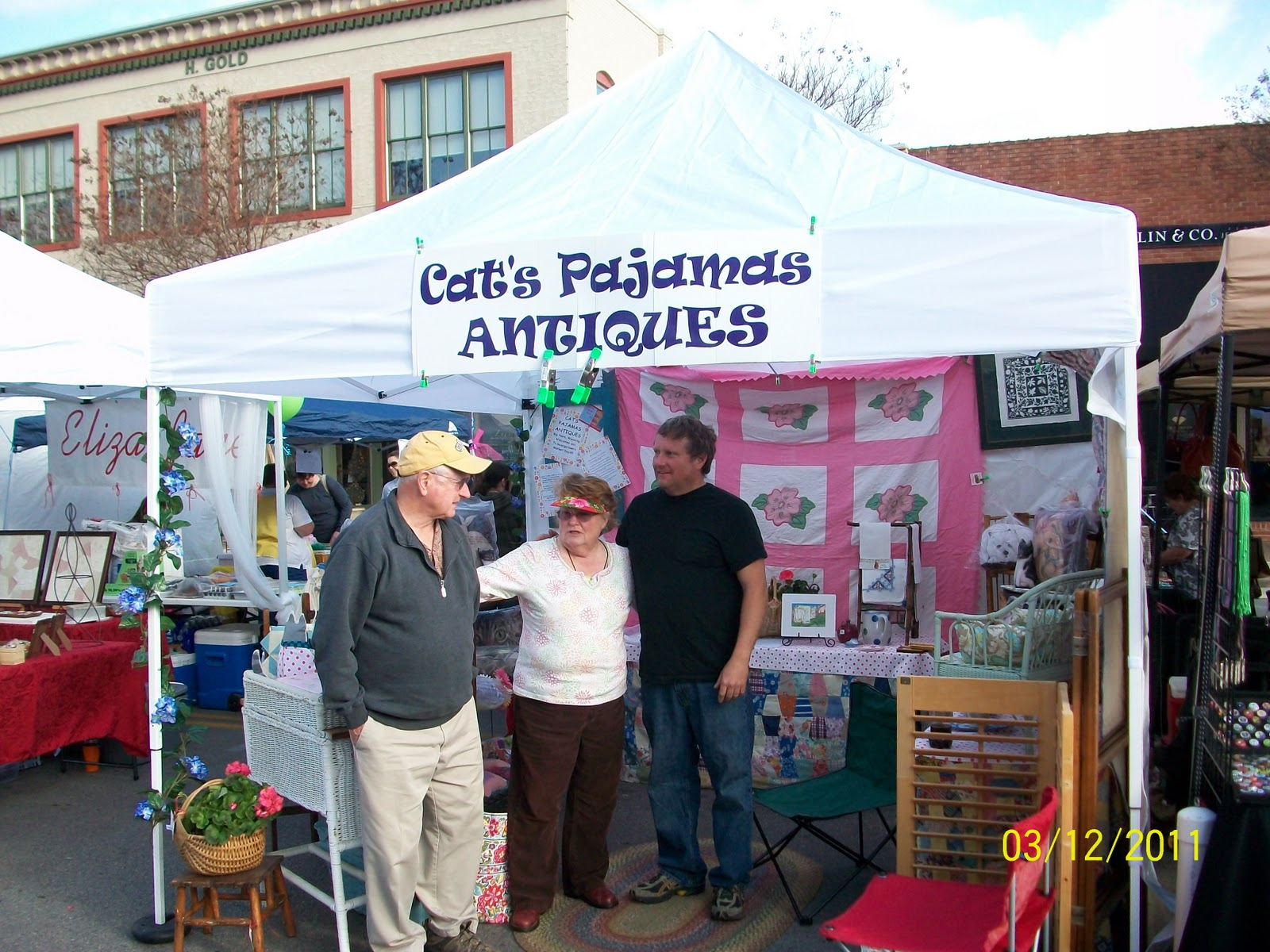 Cat's Pajamas Antiques: MARKET DAYS IN GEORGETOWN