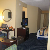 Our hotel room.
