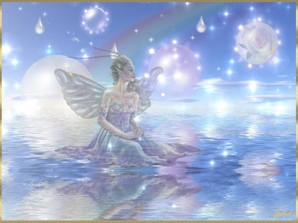 Fairy On The Water, Fairies Girls