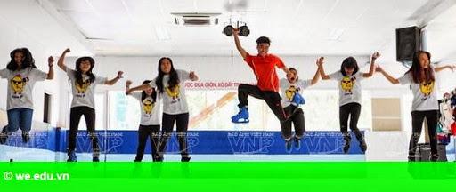 Hình 1: Trượt băng nghệ thuật Việt Nam Funclub - điểm đến thú vị của giới trẻ
