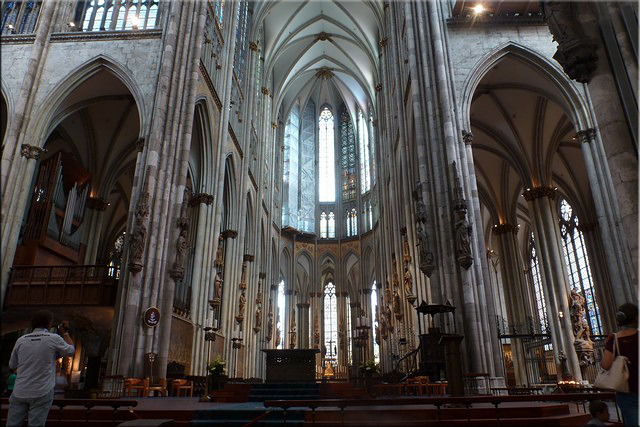 Interior de la Catedral de Colonia