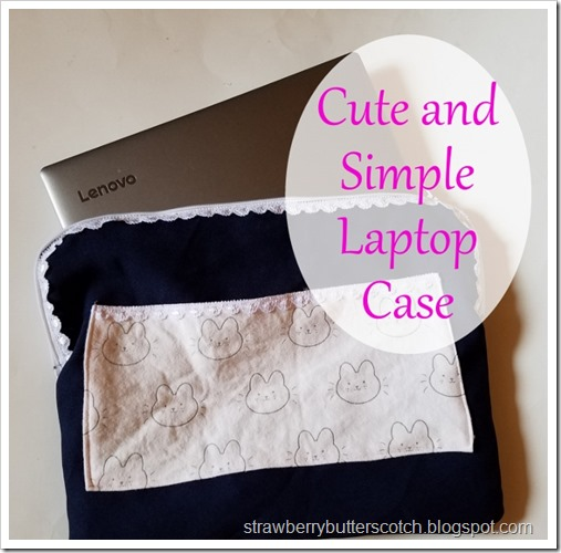 Cute and Simple Laptop Case