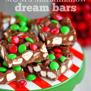 M&M's Marshmallow Dream Bars
