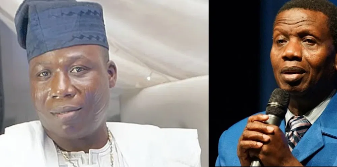 Sunday Igboho Mocks Pastor Adeboye Over Son's Death (Video)