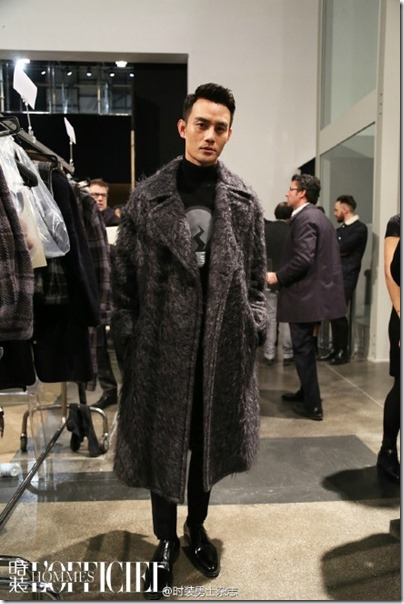 2016.01.18 Wang Kai X Milan Fashion Week AF16 X FENDI 王凱 2016秋冬男裝週 14