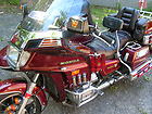 1985 HONDA GOLDWING G12 MOTORCYCLE WITH CALIFORNIA SIDECAR AND TRAILER