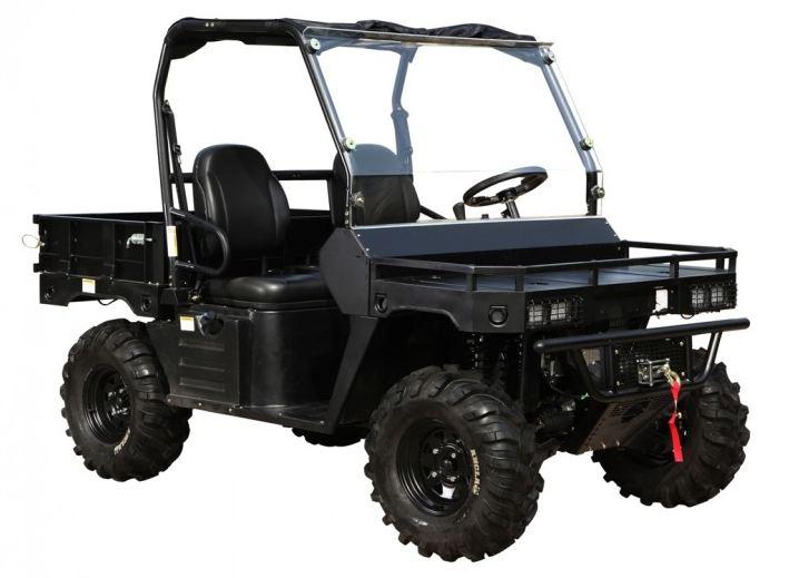 500cc Agmax Military Farm UTV Black