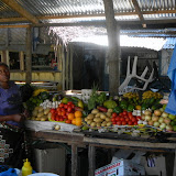 The market in Tofo