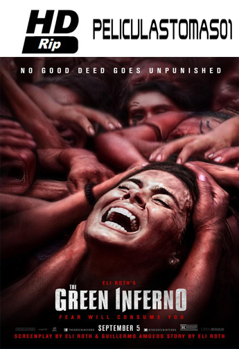 The Green Inferno (Caníbales) (2014) HDRip 720p