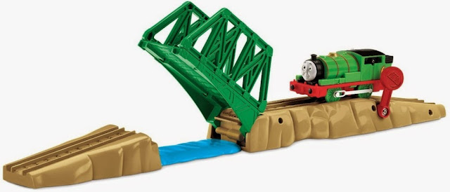 Bộ đồ chơi Tàu hỏa Percy qua cầu Raise & Lower Drawbridge Fisher Price V8336