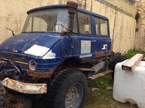 Abandoned 4 door Mog in Malta
