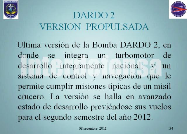 DARDO II, B, C, datos técnicos. 30