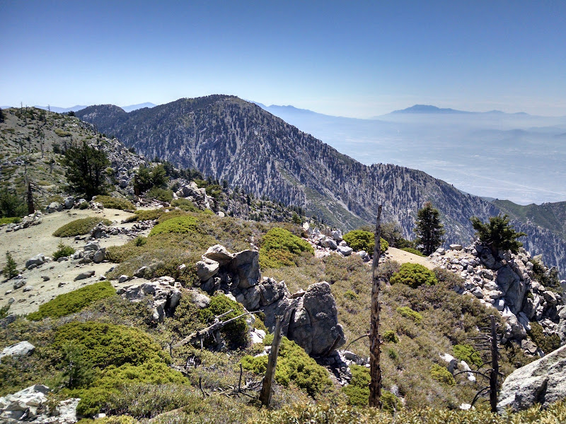 Ontario Peak and Bighorn Peak • View of Cucamonga Peak