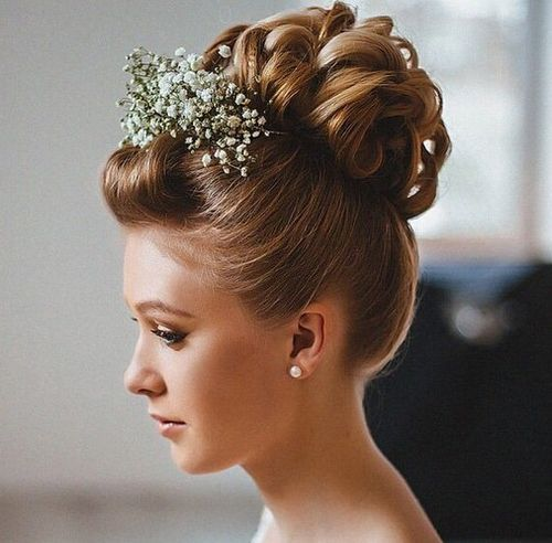 Top Smart Wedding Hair Updos In Current Year For Brides 2017-2018 19