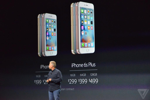 iPhone 6S va 6S Plus trinh lang Camera xin hon gia khong doi  6
