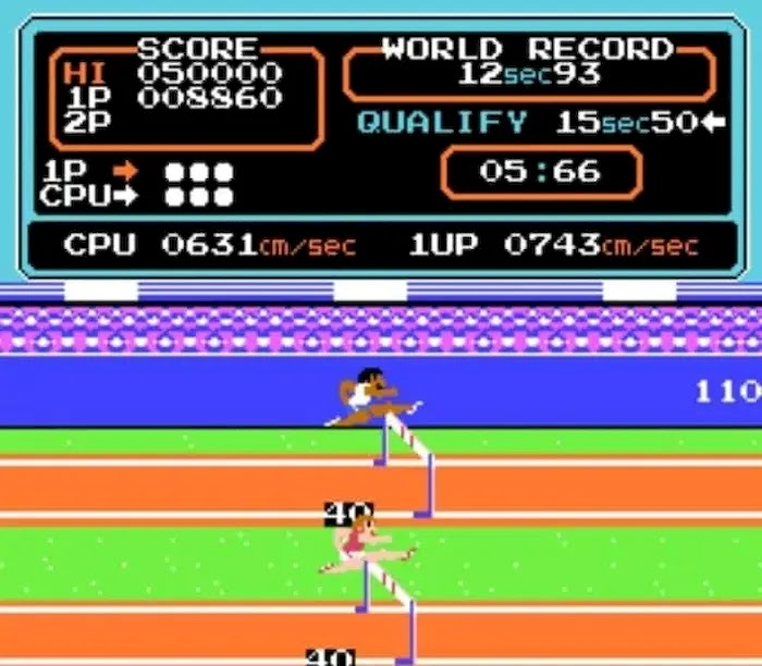 Best NES Games of All Time Hyperolympics