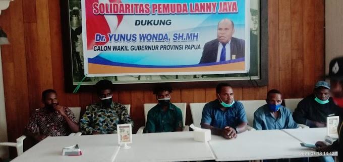 Pemuda Lanny Jaya, Dr. Yunus Wonda Layak Dampingi Lukas Enembe Memimpin Papua