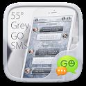 GO SMS PRO 55° GREY THEME icon