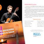 17: Concierto de guitarra de Bogdan Mihailescu (Rumanía).