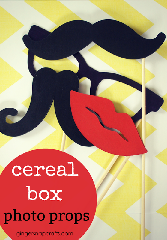 Cereal Box Photo Props at GingerSnapCrafts.com #photo #props #cricutmade
