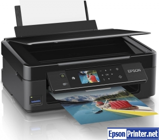 How to reset Epson XP-422 by tool