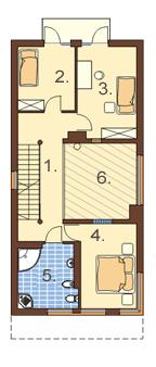 Okszów - Rzut piętra