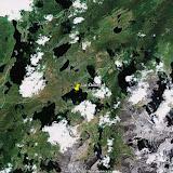 Les lacs (autour de 2100 m) dans les Monts Severo-Chuyskij (chaîne du Kuraï)