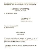 Groeneweg, Cornelis Overlijdenskaart 18-08-1978.jpg