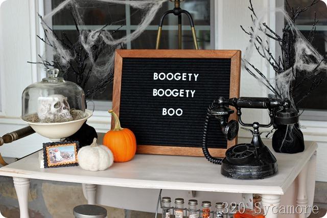 halloween letterboard