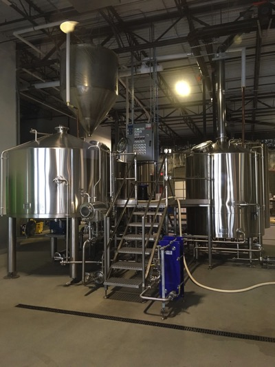 Solace Brewing's beer engine