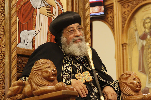 His Holiness Pope Tawadros II visit to St. Mark LA - _MG_0581.JPG