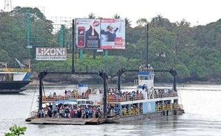 MV Harambee at the Likoni ferry. PHOTO | NMG