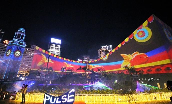 23 香港 閃躍維港 3D光雕匯演
