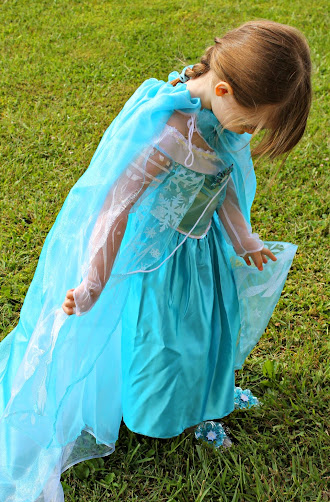 Disney Frozen DIY Elsa Cape and Elsa Costume Ideas
