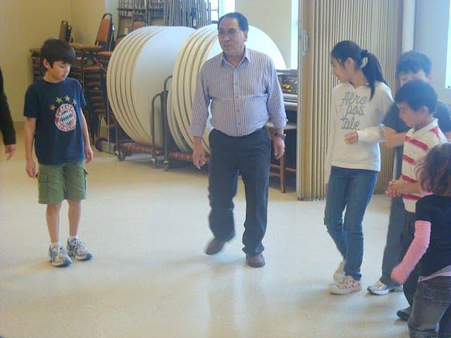 instructor Passang Ghongpa la