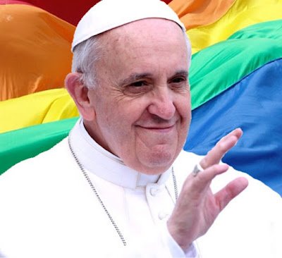 Pope to church: Be more accepting of gays and lesbians