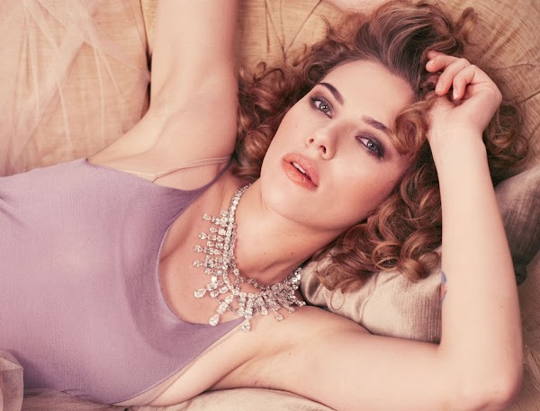 Scarlett Johansson Michelangelo di Battista Shoot for InStyle Magazine (May 2010):Best,Glamour,beautiful girls0