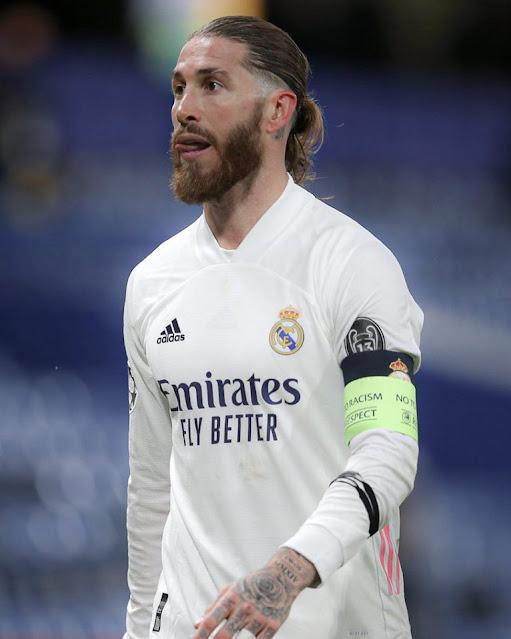 Real Madrid defender Sergio Ramos photo