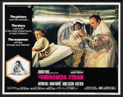"""WEIRDWARD HO !: SOUND AND VISION: """"The Andromeda Strain ..."""
