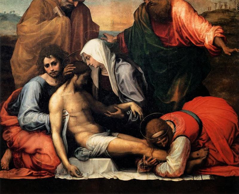 Fra Bartolomeo - Pietà (1516)