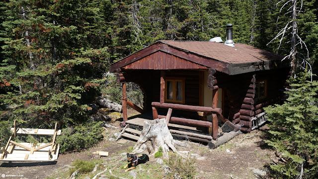 teahouse at Lake Louise, Alberta, Canada in Lake Louise, Alberta, Canada